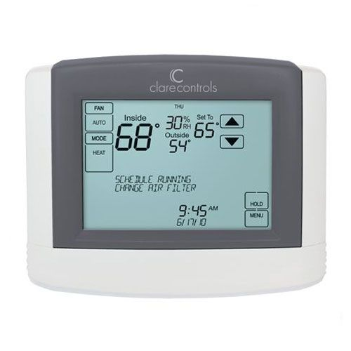 Wi-Fi Touchscreen Smart Thermostat